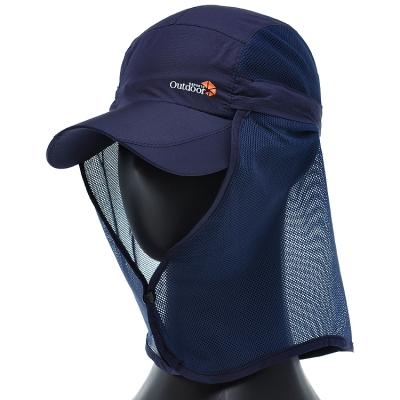 [플릭앤플록]ICO03.메쉬 햇빛가리개 등산 골프 캡모자