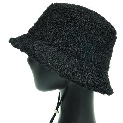 JAU19.뽀글이 양털 여성 벙거지 모자 겨울 버킷햇