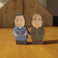 중국역사인물 페이퍼토이_마오쩌둥 덩샤오핑