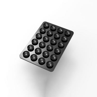 로랜텍 스마트폰 보조배터리 무선충전기 흡착패드