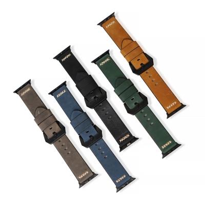 게이즈 애플워치 4 가죽 밴드 40mm 시리즈 3/2/1 38mm 호환 스트랩