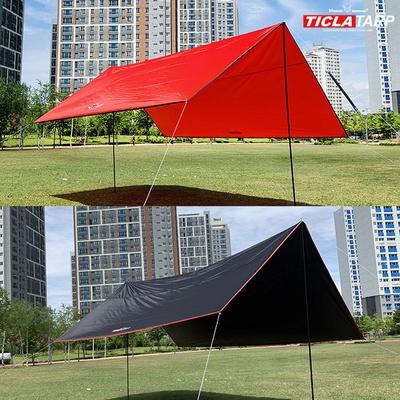 빈슨메시프 티클라 450 초대형 캠핑 렉타 타프 풀세트