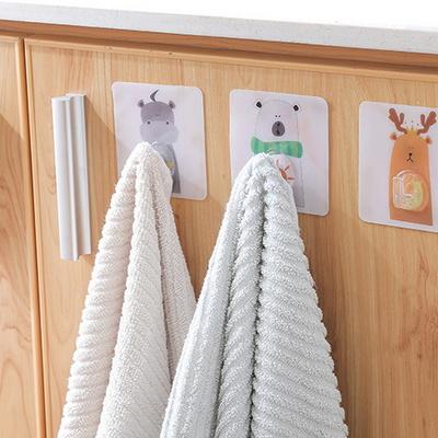 동물 접착후크 욕실 고리 마스크 걸이