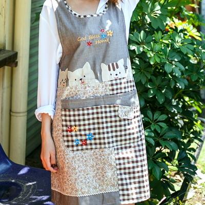 예쁜 원피스 앞치마 어린이집 유치원 교사