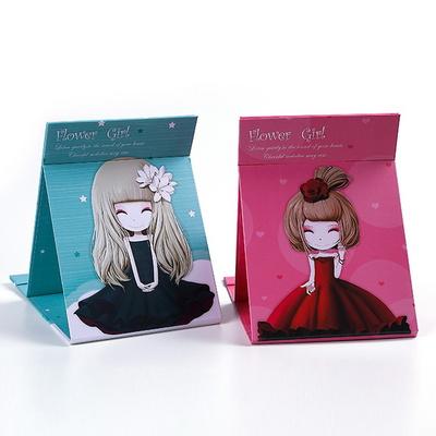 휴대용 손거울 접이식 사각 탁상용 학생선물