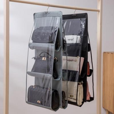 2P명품가방 걸이 핸드백 보관커버 옷장 수납정리