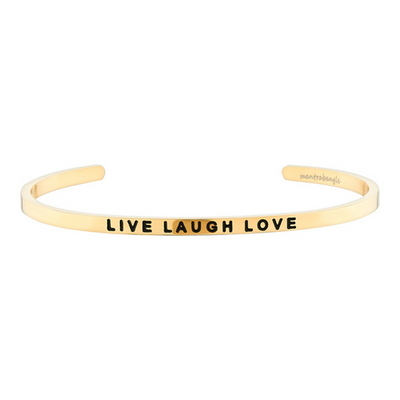 Live Laugh Love 패션팔찌
