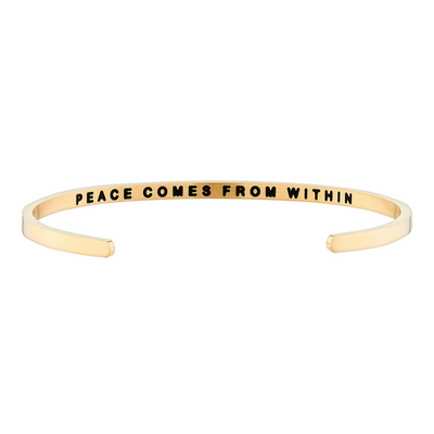 Peace Comes From Within 패션팔찌