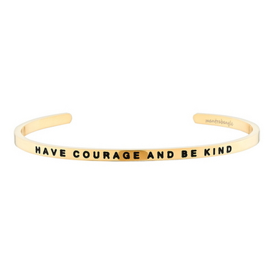 Have Courage And Be Kind 패션팔찌