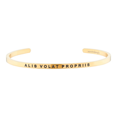 Alis Volat Propriis(She Flies With Her Own Wings)