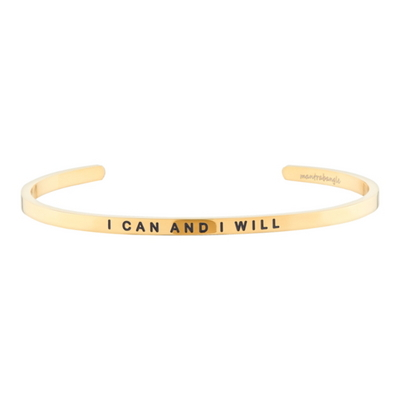 I Can And I Will 패션팔찌