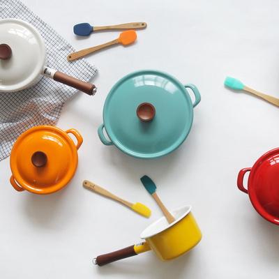 일본 에지리 컬러콜렉션 프리미엄 법랑냄비