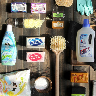 주방 욕실 프리미엄 홈케어 수입 비누 및 용품 25종