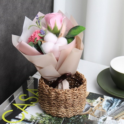 비누꽃 미니 꽃다발 납골당꽃(6type)