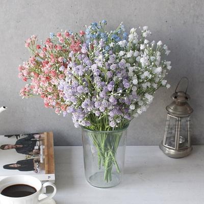 봄빛 안개꽃 조화 (4color)