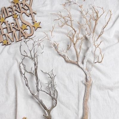 스노우 나무가지 조화(2type)