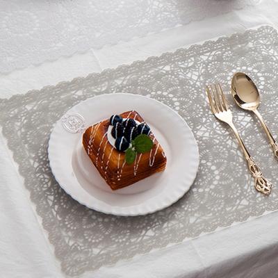 원꽃 레이스 식탁 테이블매트 2type