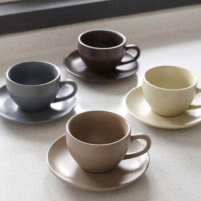 에크렌 노블 커피잔 1인세트 320ml(4color)