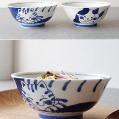 고양이 도자기 식기 냥덕입덕 그릇 주방 6종 택1