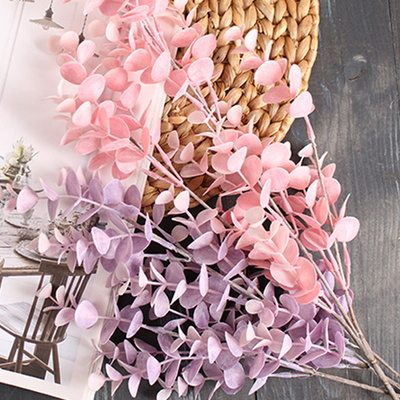 핑크 유칼립투스 조화 가지(2color)