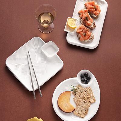트윈 서빙 플레이트 만두 초밥접시 (2type)