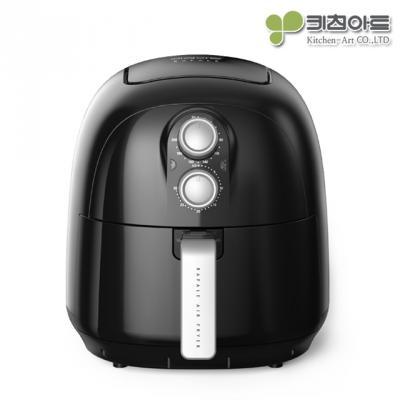 키친아트 라팔 에어프라이어 3.5L(블랙)