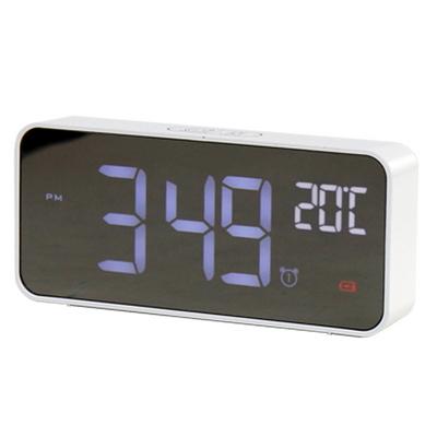 텐교 LED 디지털 무소음 시계 얼리 모닝 클락 TK-EMC