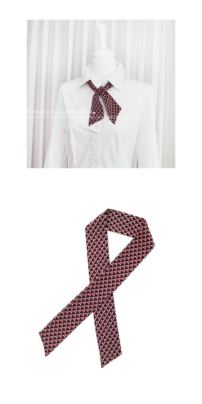 스칸디 패턴 쁘띠 트윌리 스카프 (3 colors) - 달링데이, 9,800원, 스카프, 쁘띠 스카프