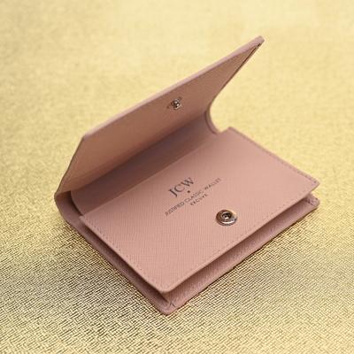 익스큐브 JCW25P 카드명함반지갑 비지니스지갑 핑크