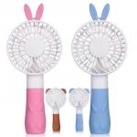 [안전인증]바니와 베어 귀요미 휴대용선풍기