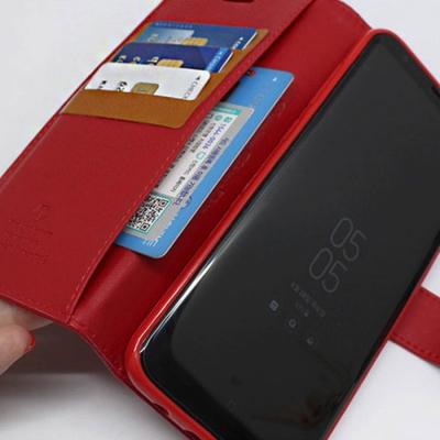 심플 카드수납 스티치 다이어리케이스(갤럭시S8)
