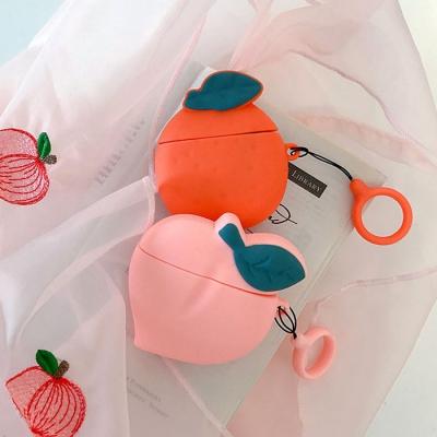 복숭아오렌지 에어팟케이스