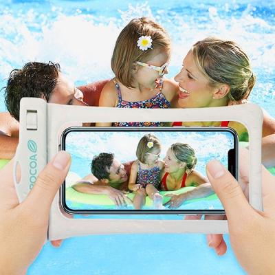 지문인식 3중스마트폰 방수팩(안전인증 IPX-8등급)