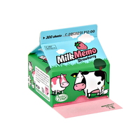 Hello Cow Milk Memo(Strawberry)