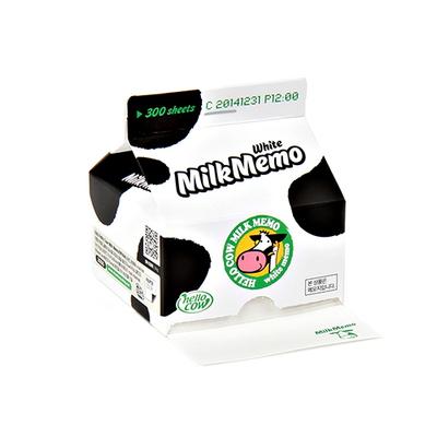 Hello Cow Milk Memo(White)
