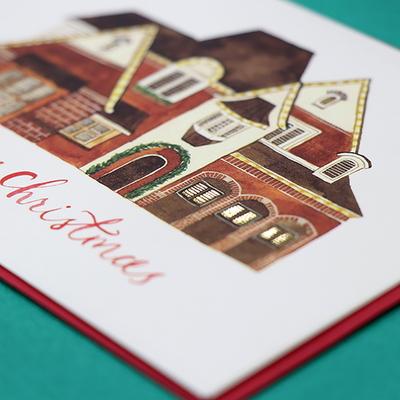 하베스터 일러스트 카드 - 07따뜻한 집