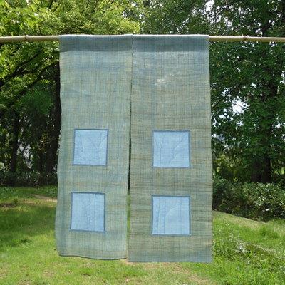 (D.I.Y) 나무가 있는 풍경 - 모시 가리개 만들기