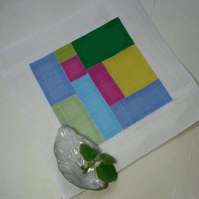 (d.i.y)꽃잠 모시 조각보 만들기