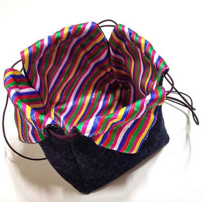 (규방공예 d.i.y) 색동 꽃잎주머니 만들기
