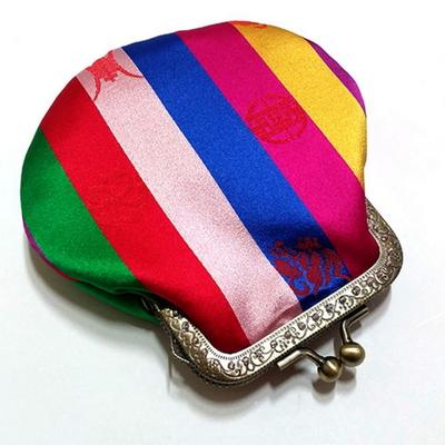 (d.i.y) 색동 프레임 동전지갑