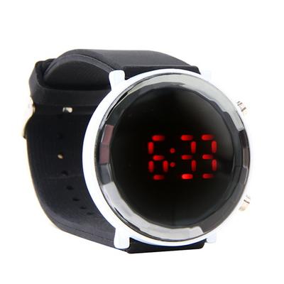 원형 LED 밴드시계