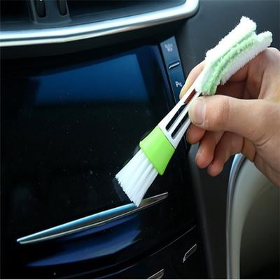 차량용 에어컨 틈새브러쉬 청소솔