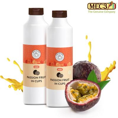 MEC3 패션후르츠 인 컵스 과일 스무디 농축액 에이드