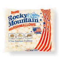 록키마운틴 마시멜로우 미니 화이트 마시멜로 150g
