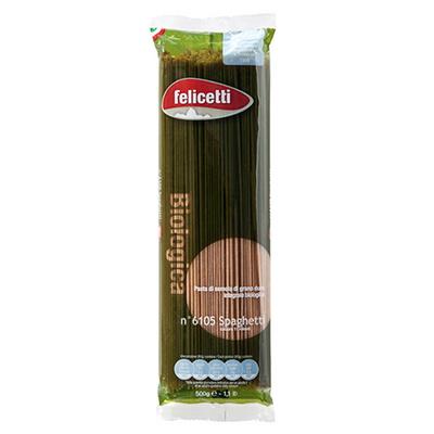 펠리체티 유기농 통밀 스파게티 아기 파스타 500g
