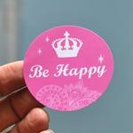 Be happy 스티커-Tiara
