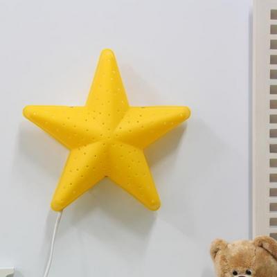 (LAMPDA)LED형 별모양 벽등(옐로우)