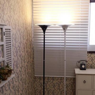 LED 오로라 거실용 장스탠드 (블랙)