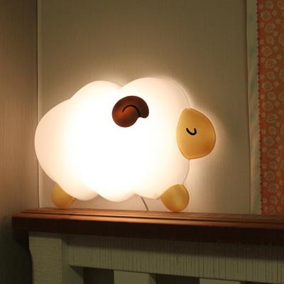 밝기조절선택 LED형 꿈양 벽등