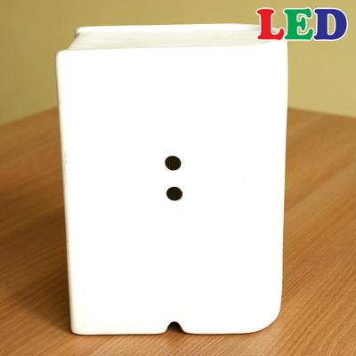 LED 세라믹 쉐비플라워북 스탠드